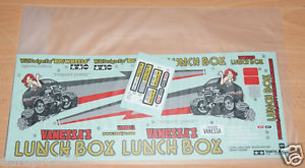 Tamiya Decals for Lunch Box Black Edition 58546 9495756