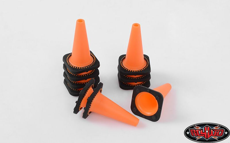RC4WD ZS1658 1/10 Traffic Cones 