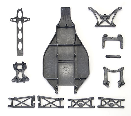 Image Of Associated B4 Full Carbon Parts Set