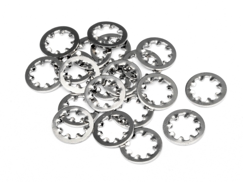 HPI Locking Washer M4 (20pcs) 96704
