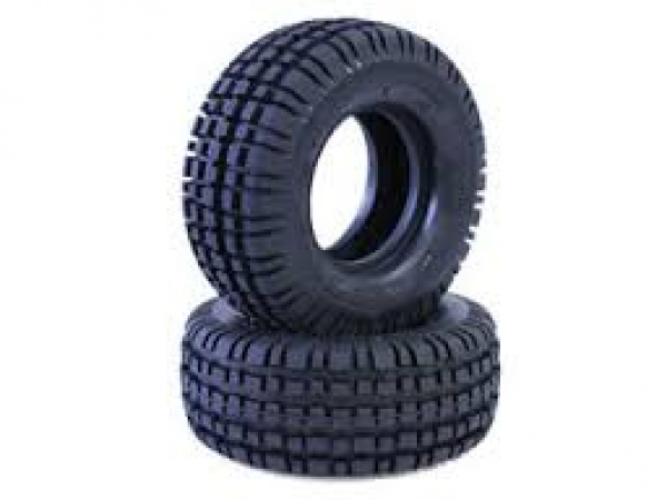 Tamiya Rear Tires (2 pcs.) for Buggy Champ/Rough Rider 9805049