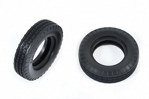 Tamiya Front Tyres (2 pcs.) for Buggy Champ/Rough Rider 9805108