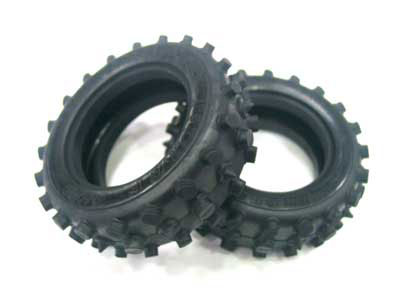Tamiya Front Tyres for 58047 (2) 9805110