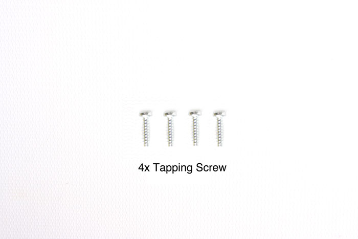 Tamiya 3X12 Tapping Screw (4Pcs) 9805629