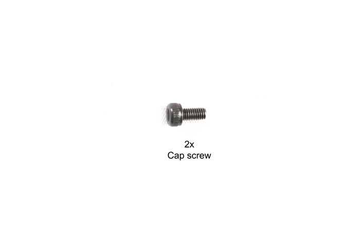 Tamiya 3X6Mm Cap Screw 2Pcs 9808013