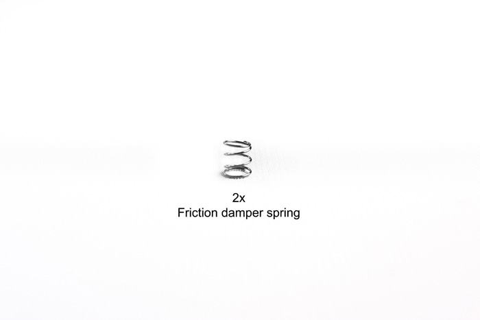 Tamiya Friction D Spring (2) For 58431 (F104 Pro) 9808056