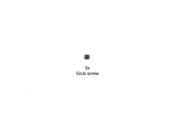 Tamiya 5X5Mm Grub Screw (Ba5 X 5) 9808090