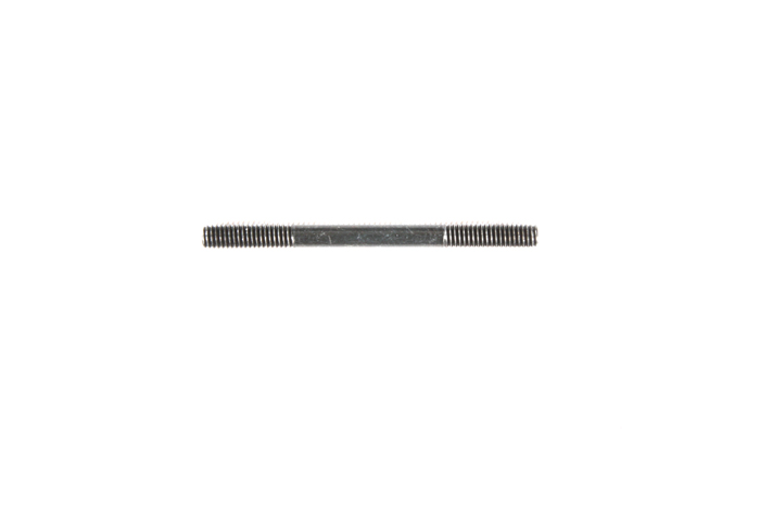 Tamiya 3X37.7Mm Threaded Shaft (2) 58418 (Boomerang) 9808211