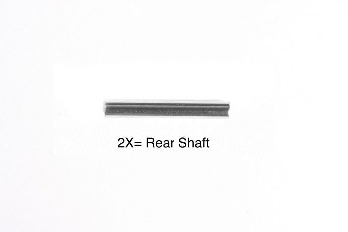 Tamiya 2X14Mm Shaft (2) For 58431 (F104 Pro) 9808243
