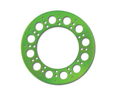 Axial Holey Rollers Bead Lock Rings (2) - Green AX8019
