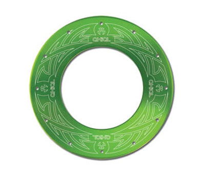 Axial Tribal Bead Lock Rings (2) - Green AX8054