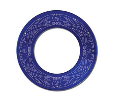 Image Of Axial Tribal Bead Lock Rings (2) - Blue