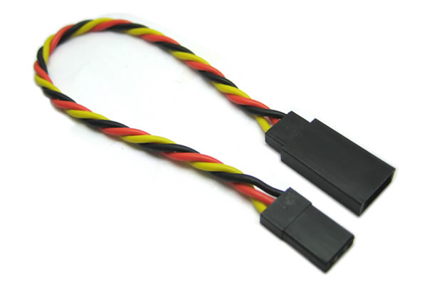Etronix JR Twisted Extension Wire - 30cm ET0735