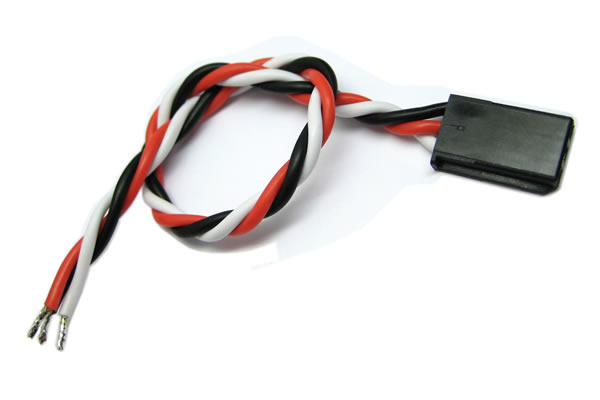 Etronix 	22AWG Futaba Twisted Servo Wire - 15cm ET0747