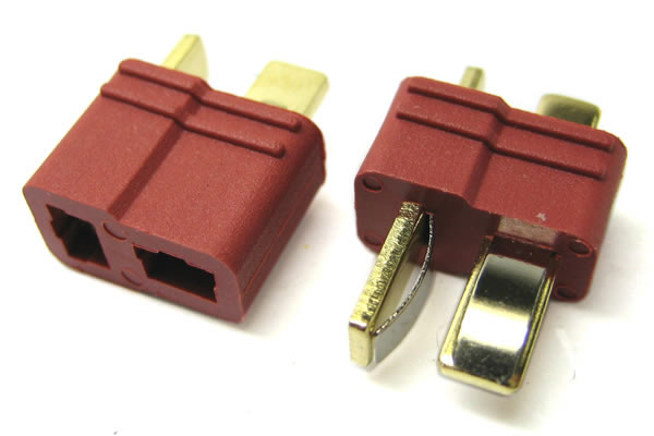 Etronix Deans Plug With Grips (1 Male/1 Female) ET0789