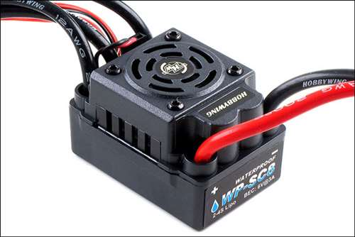 Image Of Hobbywing EZRUN-WP-SC8 -120A BL ESC - 1/10 1/8 Waterproof