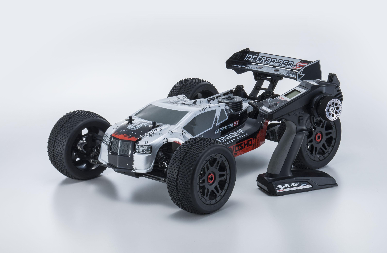 Kyosho Inferno Neo ST Race 2 0 Readyset T1 Silver (KT331P-KE25) 33002T1B