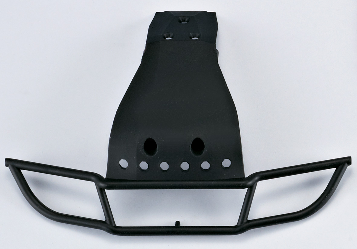 Killer Body Front Bumper, Injected  (for 1/10 Sct)   KB48042