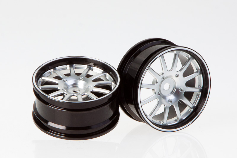 Killer Body Mitsubishi Lancer Evo X, Rim Cnc Alloy (silver) (2 Pcs.)   KB48075S