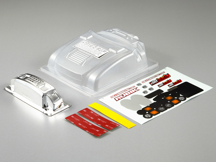 Killer Body Rubik Engine Hood And Bumper Upgrade Set Type C   KB48221