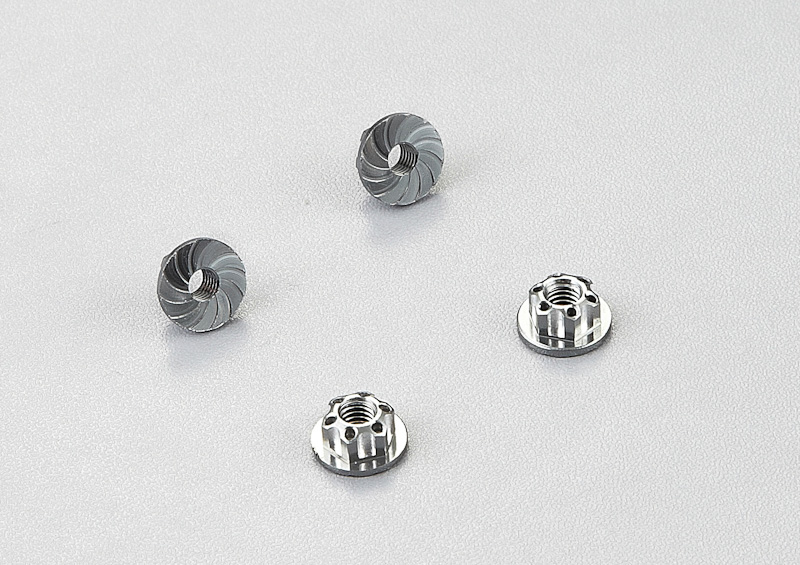 Image Of Killer Body Aluminum Wheel Nuts (gray) 4pcs.