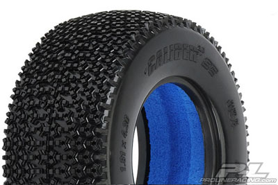 Pro-Line Caliber SC 2.2/3.0 (M3) Tyres With Closed Cell Inserts (2) PL1176-02