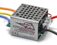 Image Of Speed Passion Silver Arrow 1:8th Brushless ESC