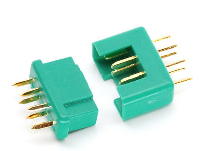 Image Of Simply RC Multiplex Style Connectors (Male & Female Set)