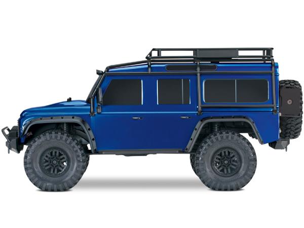 TRAXXAS Body Green Land Rover Defender TRX8011G incl. ExoCage, inner fende