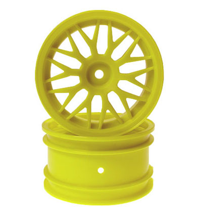 Kyosho Yellow Rear Wheel - Inferno TR15 Readyset W6063KY