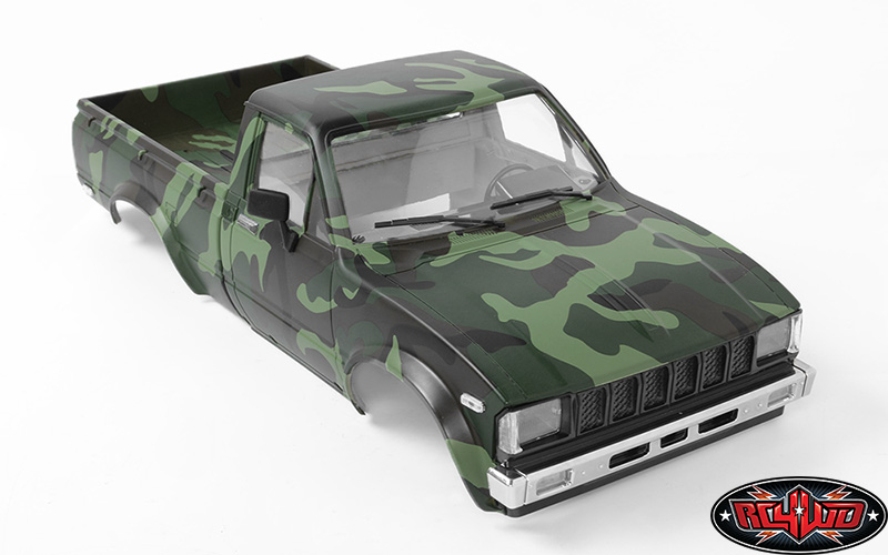 RC4WD ZB0115 Complete Mojave 2 Body Set For Trail Finder 2 (Camo) Z-B0115