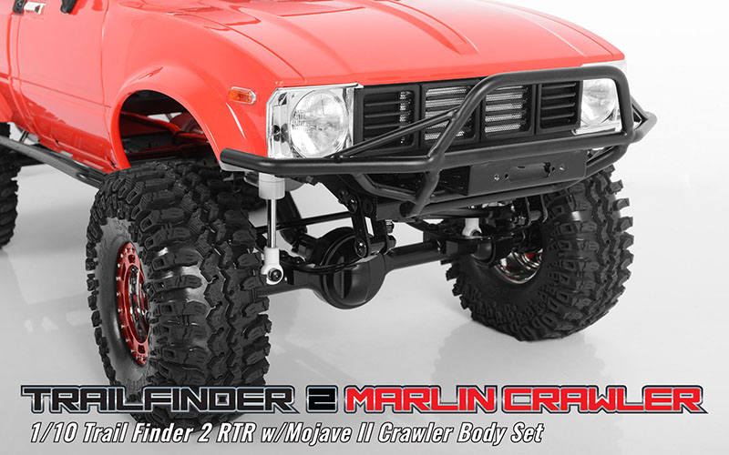 RC4WD Marlin Crawlers Trail Finder 2 RTR w/Mojave II Crawler Body Set  Z-RTR0034