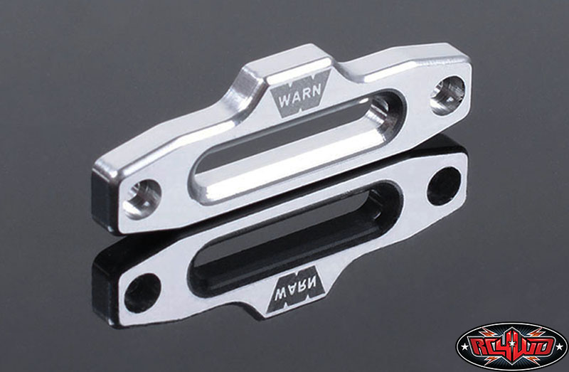 RC4WD ZS1310 RC4WD 1/10 Warn Hawse Polished Aluminum Fairlead Z-S1310