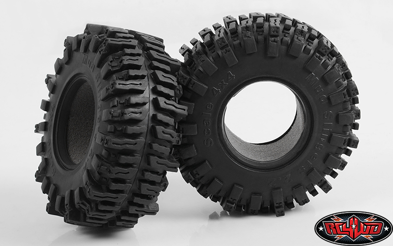RC4WD ZT0097 Mud Slingers 2.2 Tires (1x Pair) Z-T0097
