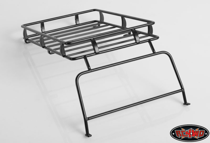 RC4WD ARB 1/10 Roof Rack with Window Guard for Defender D90 Body Z-X0009