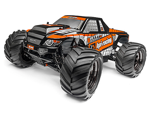 HPI Trimmed And Painted Bullet 3.0 Mt Body (black) 115508