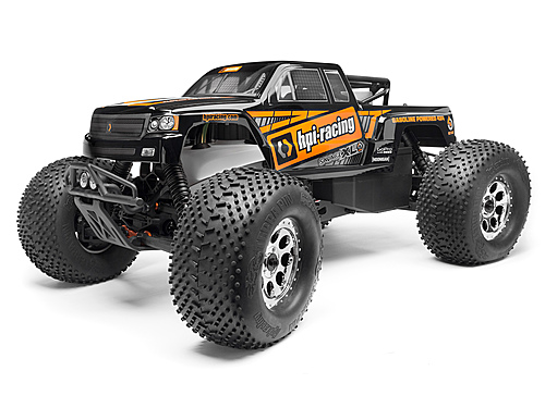 HPI Gtxl-1 Painted Body (black) 112828