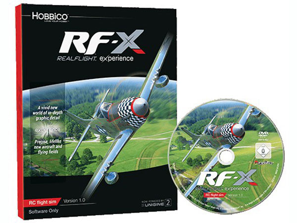 Real Flight RF-X Software Only GPMZ4548