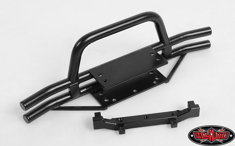 RC4WD ZS1558 RC4WD Rampage Front Double Tube Bumper with Hoop for Trail Finder 2 SWB 