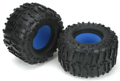 Losi LST/AFT Claw MT Tyres W/Foam LOSB7201