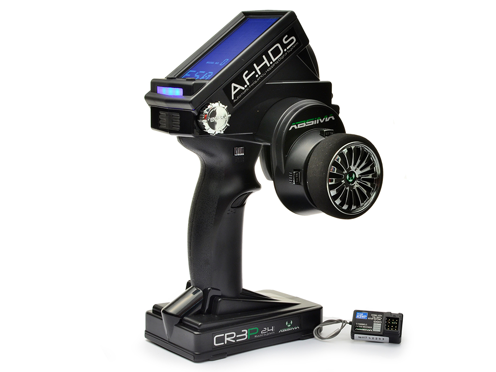 Absima CR3P AFHDS 2.4GHz 3 Channel Radio System 2000002