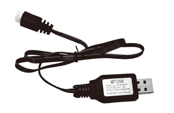 DC 3,6 V-7,2 V RC-Akku USB-Ladegerät-Adapter für ferngesteuertes Auto Fad  po
