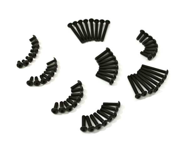 Team C Screw Set A 2WD - (AR125000480) T02082