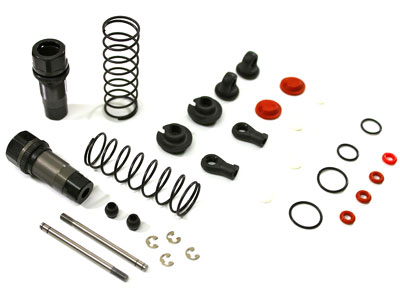Team C Front Shocks Complete (2) Comp. Buggy T02101
