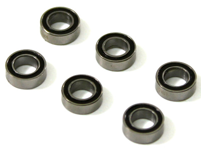 Team C Ball Bearing 4X7X2.5mm (6 pcs) 4WD Comp. Buggy (AR125001017) T04031