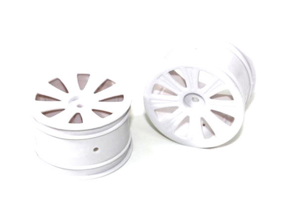 Ansmann Racing Rear Rim White (2) - X4/Blizzard (#125000932) C551250932
