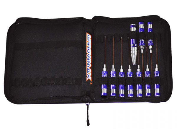 Arrowmax 10pc Tool Set for Helicopters with Tool Bag AM199405