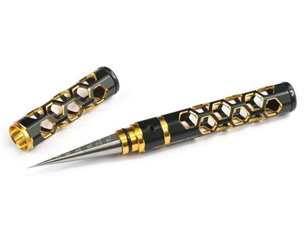 """AM410269BG Arrowmax Allen Wrench .063 x100mm Black Golden/"""" 1//16"""