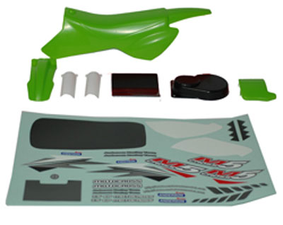 Anderson Racing Body (Green)+Decals ANM59355