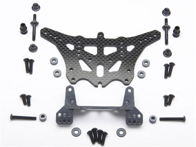 Anza RC Carbon/ Ally Rear Shock Tower (1) TRX 2wd ANZA3638